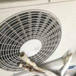岡山県赤磐市山陽で取り外し回収、処分したエアコン