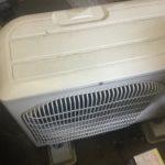 岡山市東区で取り外し回収したエアコン