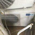 岡山県久米郡美咲町で取り外し回収したエアコン