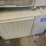 倉敷市で取り外し回収したエアコン