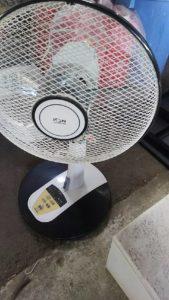 岡山県内で回収した扇風機