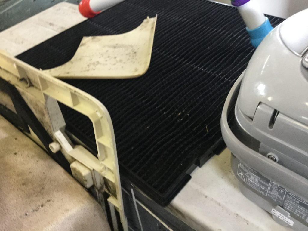 岡山県瀬戸内市長船町で不用品回収したエアコン
