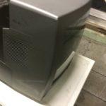 津山市で回収したブラウン管テレビ