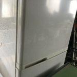 井原市で回収した冷蔵庫
