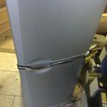 加賀郡吉備中央町で回収した冷蔵庫
