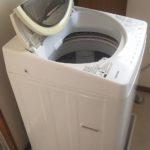 岡山市北区で回収した洗濯機