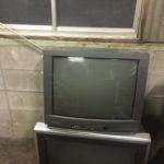 岡山市北区で回収したブラウン管テレビ