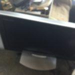 備前市で回収した液晶テレビ