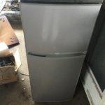 岡山市中区で回収した冷蔵庫