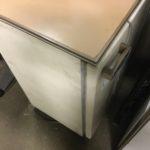 岡山市東区で回収した冷蔵庫