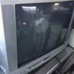 岡山市南区で回収したブラウン管テレビ