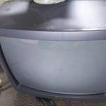 玉野市で回収したブラウン管テレビ