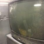 岡山市東区で回収したブラウン管テレビ