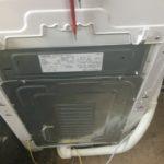 笠岡市で洗濯機の回収をさせて頂きました