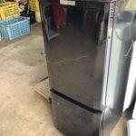 新見市で回収した冷蔵庫