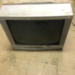新見市で回収したブラウン管テレビ