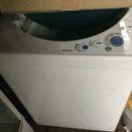 岡山市中区で洗濯機の回収をさせて頂きました