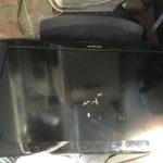 真庭市で回収した液晶テレビ