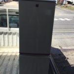 浅口市で回収した冷蔵庫