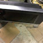 久米郡久米南町別所で回収した液晶テレビ