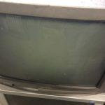 岡山市中区で回収したブラウン管テレビ
