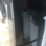 赤磐市で回収した冷蔵庫