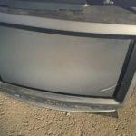 加賀郡吉備中央町で回収したブラウン管テレビ