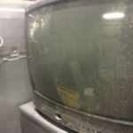 勝田郡奈義町で回収したブラウン管テレビ