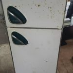 瀬戸内市で回収した冷蔵庫