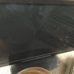 岡山市北区で回収した液晶テレビ