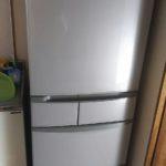 倉敷市で回収した冷蔵庫