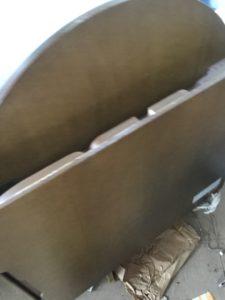 備前市伊部での不用品回収、粗大ゴミの片付け回収したベッド