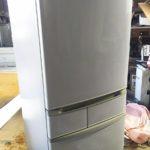 備前市で回収した冷蔵庫