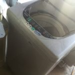 美作市で回収した洗濯機