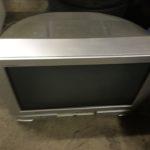 総社市で回収したブラウン管テレビ