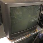 久米郡美咲町で回収したブラウン管テレビ