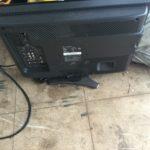 加賀郡吉備中央町で回収した液晶テレビ