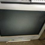 勝田郡勝央町で回収したブラウン管テレビ