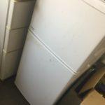 苫田郡鏡野町で回収した冷蔵庫