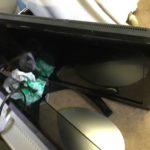 津山市で回収した液晶テレビ