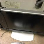 岡山市南区で回収した液晶テレビ