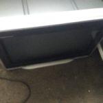 英田郡西粟倉村で回収したブラウン管テレビ