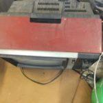 都窪郡早島町で回収したブラウン管テレビ