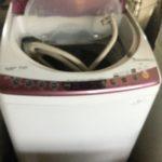 都窪郡早島町で回収した洗濯機