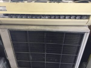 瀬戸内市でのエアコン回収、エアコン処分