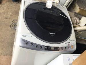 岡山市南区での洗濯機の回収から処分