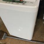 苫田郡鏡野町で回収した洗濯機