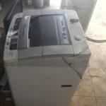 英田郡西粟倉村で回収した洗濯機