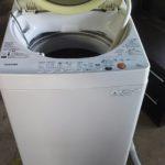 加賀郡吉備中央町で回収した洗濯機