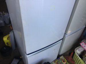 岡山県備前市で回収した冷蔵庫